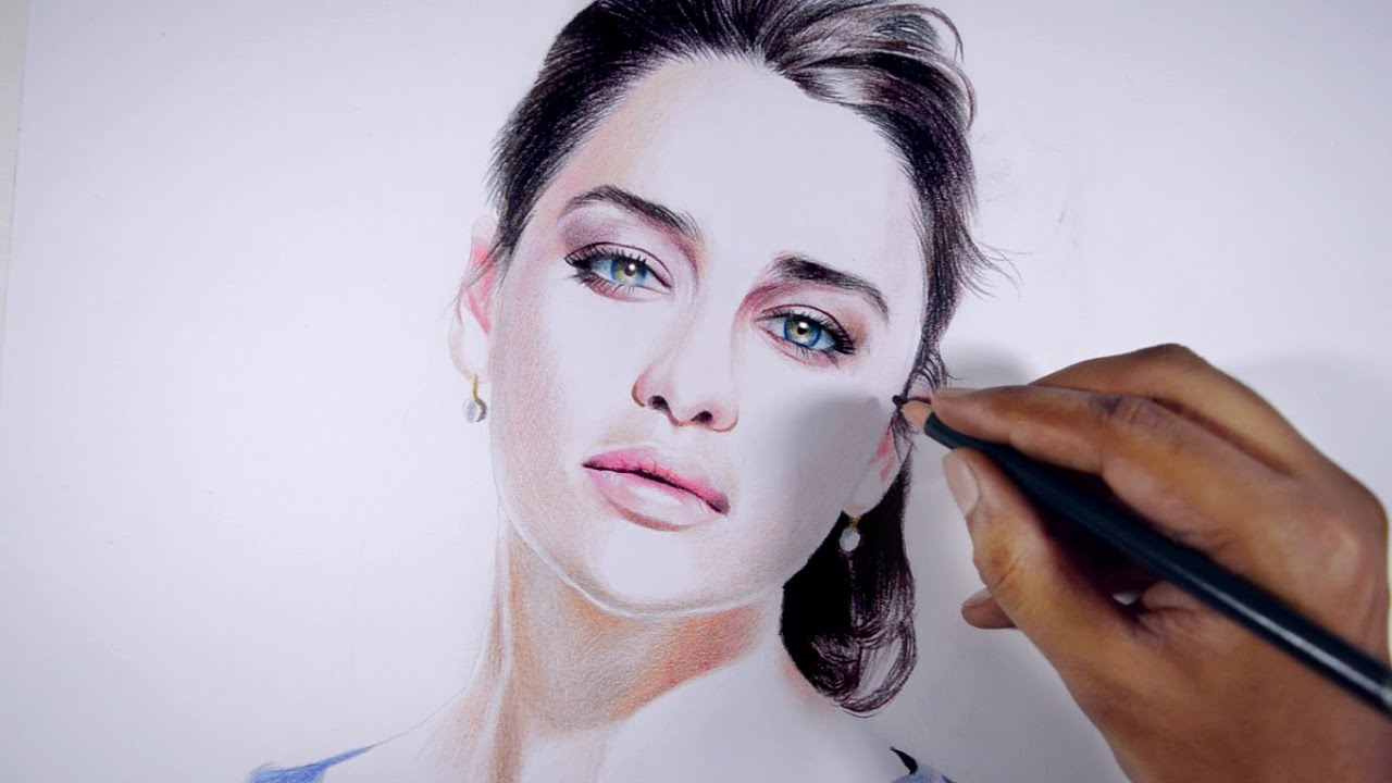 how to make skin colour pencils