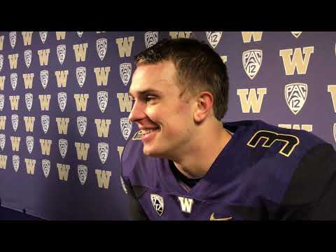 Jake Browning Interview - Spring Preview Event April 21, 2018