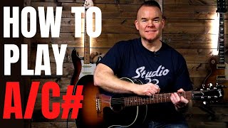 How to Play AC Chord on Guitar