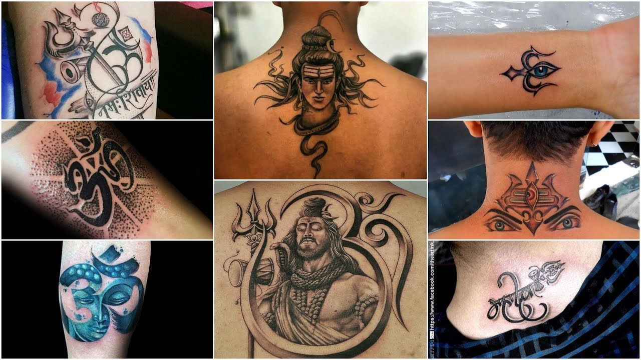 Trishul Tattoo Designs For Women