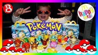 ВСЕ 16 ПОКЕМОНЫ Хэппи Мил МакДональдс 2016! Новые игрушки ПОКЕМОН ГО! Pokemon Go Happy Meal