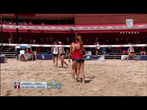 2019 Pac-12 Beach Volleyball Championship: Arizona defeats Stanford to stay in winners bracket