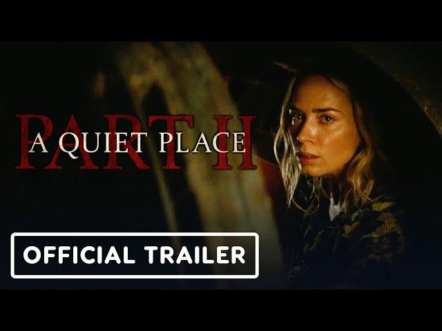 A Quiet Place: Part 2 - Official Trailer (2020) Emily Blunt