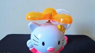 Mini fan pink Vs Hellokitty propeller | Cánh quạt đồ chơi