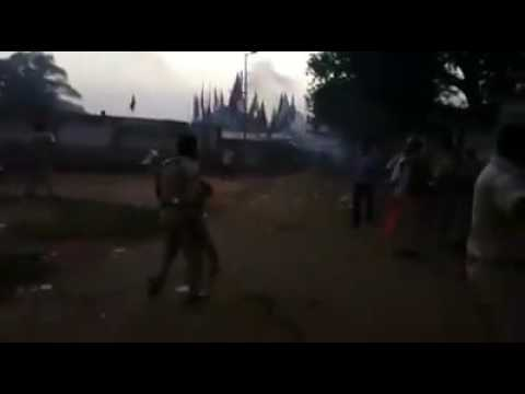 24 pargana(west bengel).police support rss.vhp.bjp.ye hai rss ka asli chehra
