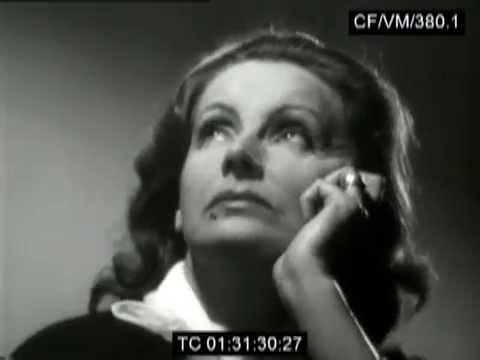 Greta garbo screen test youtube for Garbo arredamenti