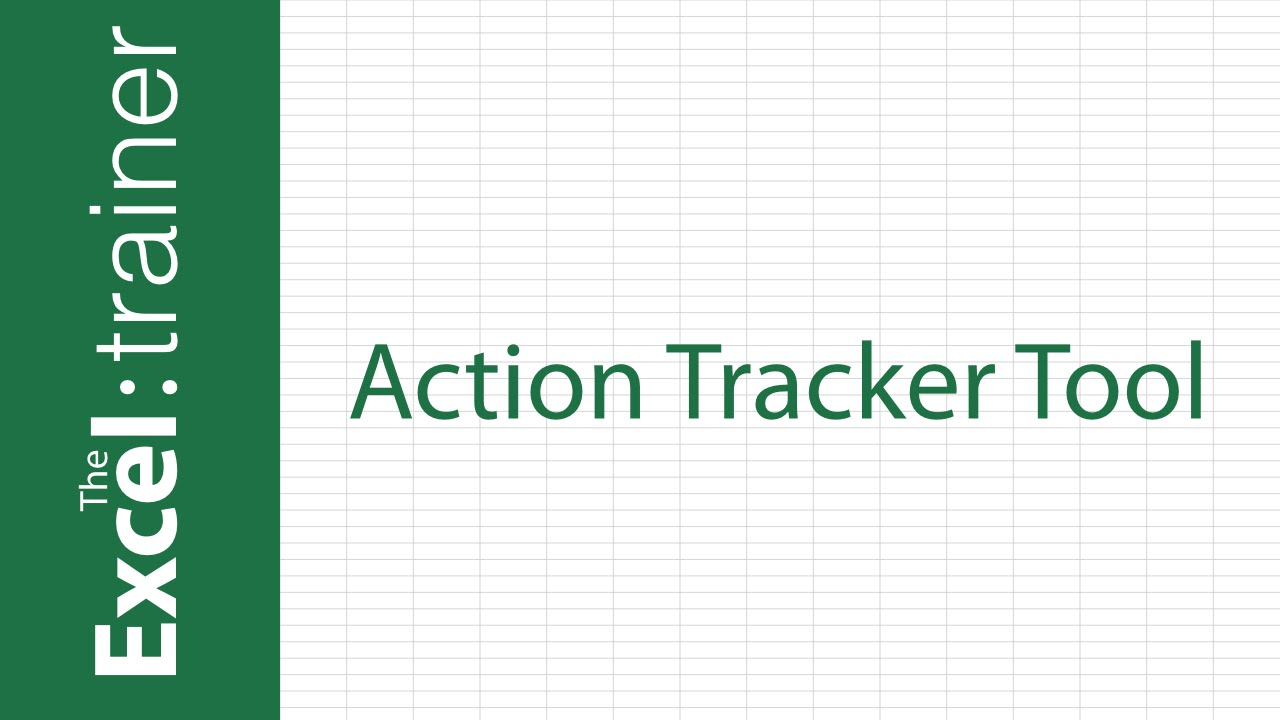 excel action tracker