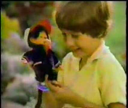 Monchhichi Dolls Commercial