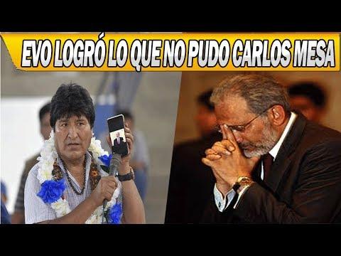 Evo Morales Hizo Lo Que No Pudo Carlos Mesa y Otros Gobiernos