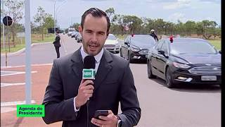 Presidente Bolsonaro chega a Brasília após alta médica