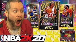 Best of NBA 2K20 Super Packs are HERE! Live OPENING!
