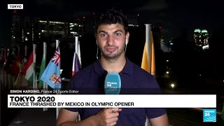 Tokyo2020 French football team thrashed by Mexico in Olympic opener FRANCE 24 English