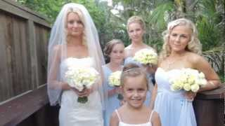 Josh and Tina Zorbas Wedding Highlights - 10 February 2012 Thumbnail