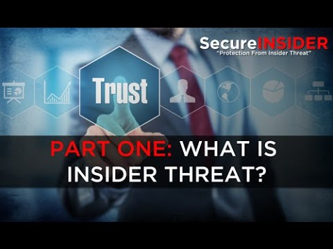 Insider Threat Animation - Part 1: What is Insider Threat?