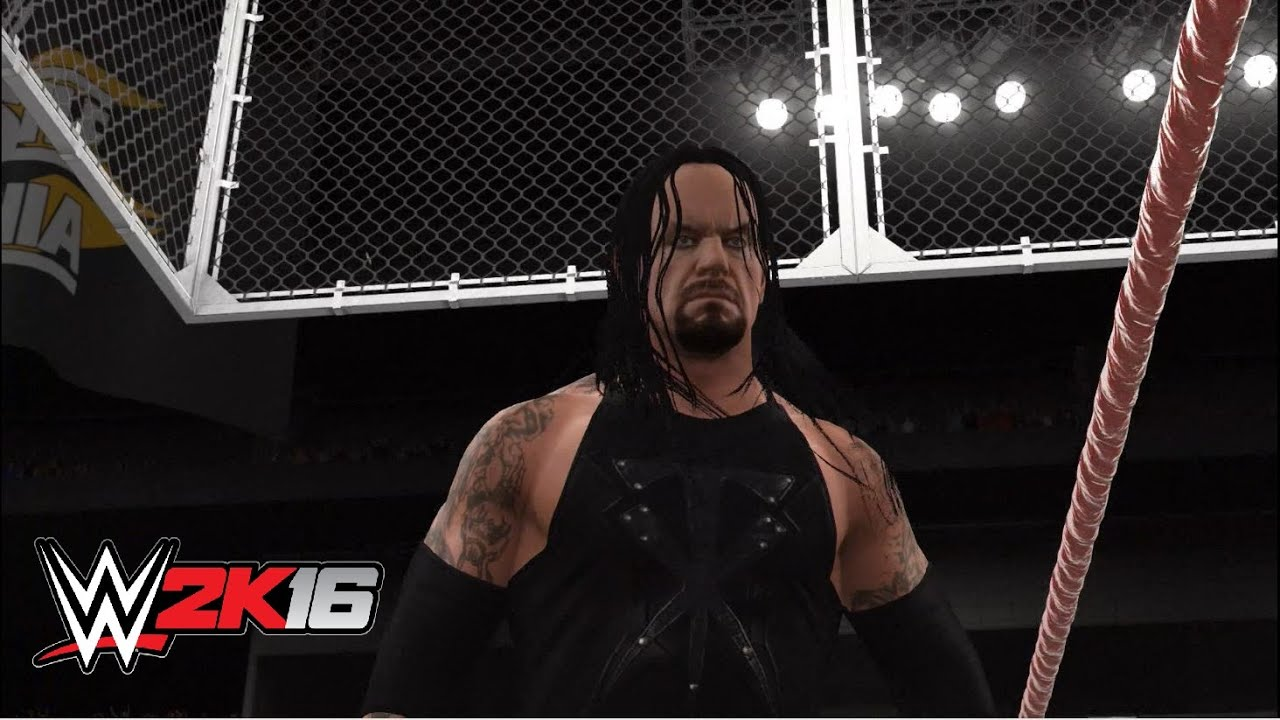 WWE 2k16 - The Undertaker vs. The Big Bossman ...
