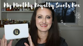 My Monthly Royalty Scents Box || Which Fragrances Did I Get?