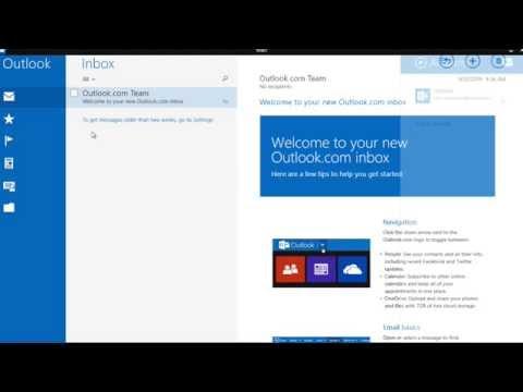 Windows 8.1 Mail Setup