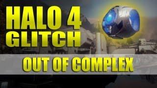 Halo 4 - glitch / secret room! - underneath Complex alive!