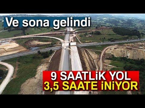 İstanbul - İzmir Otoyolu'nda Sona Gelindi! 9 Saatten 3,5 Saate İnecek