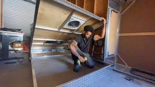 Building the Frame for my DIY Rooftop Wedge Tent | Overland Truck Camper Ep. 5