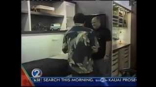 Khon2 - Organized Hawaii Desk Bed & Wall Bed.wmv
