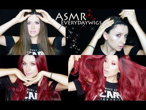 ASMR Wig Unboxing and Try on *Everydaywigs