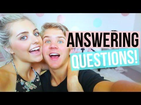 ARE WE GETTING MARRIED?! #AskAspynAndParker  | Aspyn + Parker