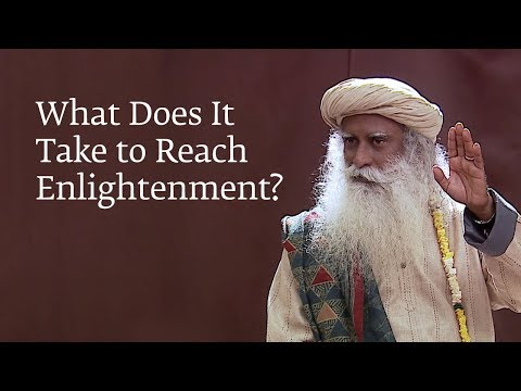 What Does It Take to Reach Enlightenment?