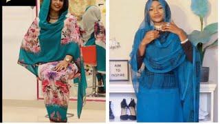 How I wear a sudanese toub/Laffaya | كيف تلبس الثوب السوداني