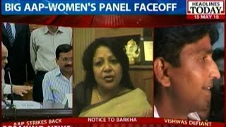 kumar vishwas affair row aap serves notice to dcw chairperson