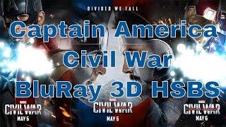 Download Captain America- Civil War 2016 BluRay 3D HSBS 2.2 GB Torrent