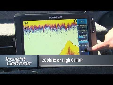 Record sonar on a Lowrance HDS chartplotter to create a custom C-MAP Genesis map