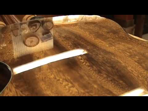 Luthier Tips du Jour - The UV Cured Finish