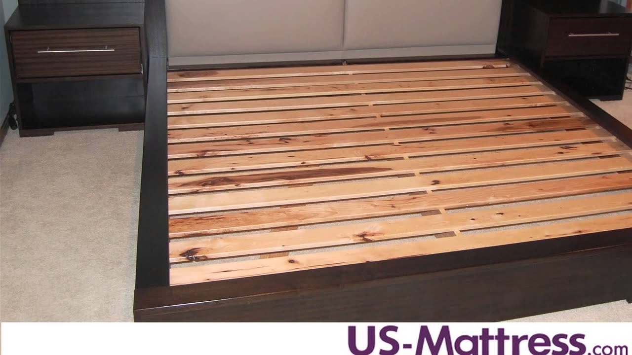 how many slats are needed for mattress only beds? - youtube