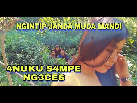 NGINTIP JANDA MUDA MANDI  | film komedi sunda lucu