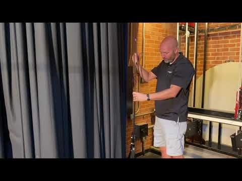 Opening and Closing Stage Curtains