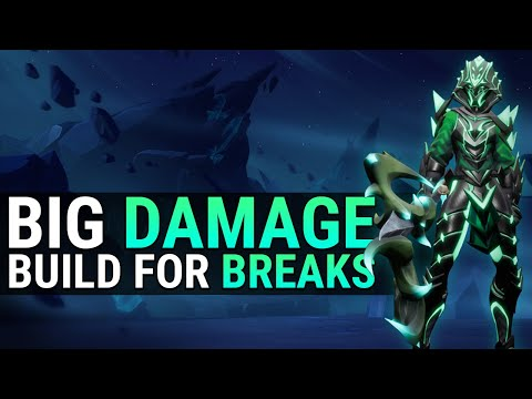 Dauntless Escalation Axe Build - Part Breaks And Big Damage - Patch 1.1.0