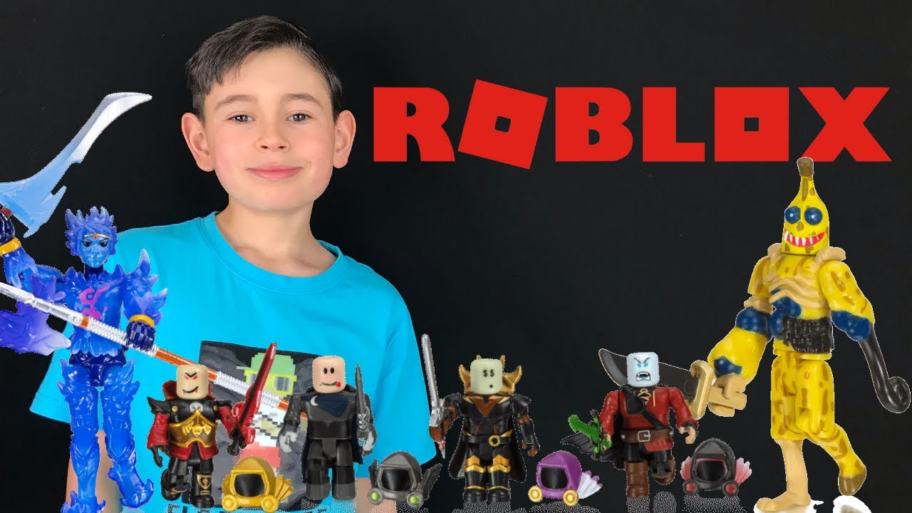 New Roblox Toy Unboxing Youtube