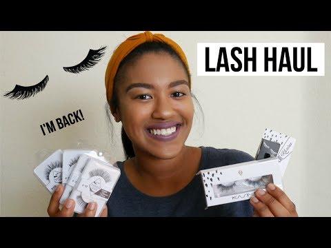Lash Haul (Kasina Professional 😍) | I'm Back! :D