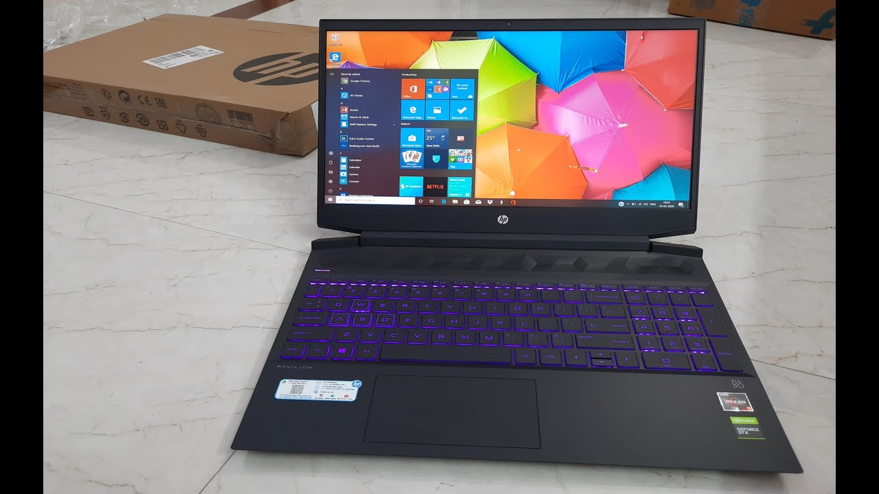 Unboxing Hp Pavilion 15 Ec Ryzen 5 Quad Core Unboxing Hp Pavilion Gaming Laptop Unboxing Host Youtube