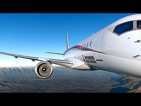 The first Japanese-made passenger jet - Mitsubishi Regional Jet -  MRJ90