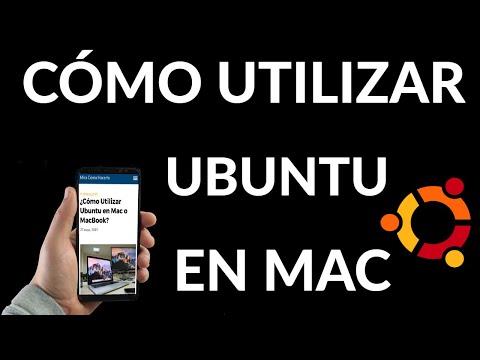 Cómo Instalar Ubuntu en Mac o MacBook