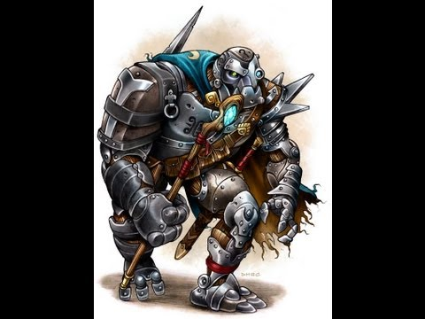 Warforged & Golems As Player Characters