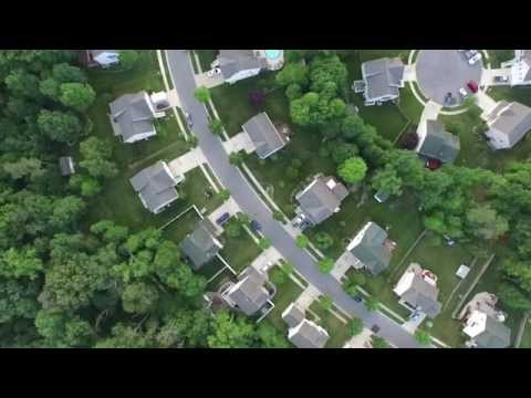 DJI Phantom 3 Pro Flight over Glen Burnie, MD