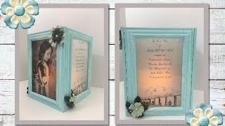 DIY Graduation Gift/Centerpiece for a Special Occasion (using Dollar Tree frames) Video