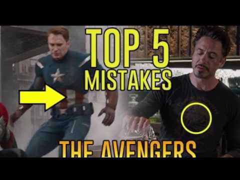 Top 5 movie mistakes in The Avengers
