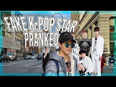 FAKE K-POP STAR(BTS) PRANKED!(MUST WATCH)FAKE BTS MEMBER