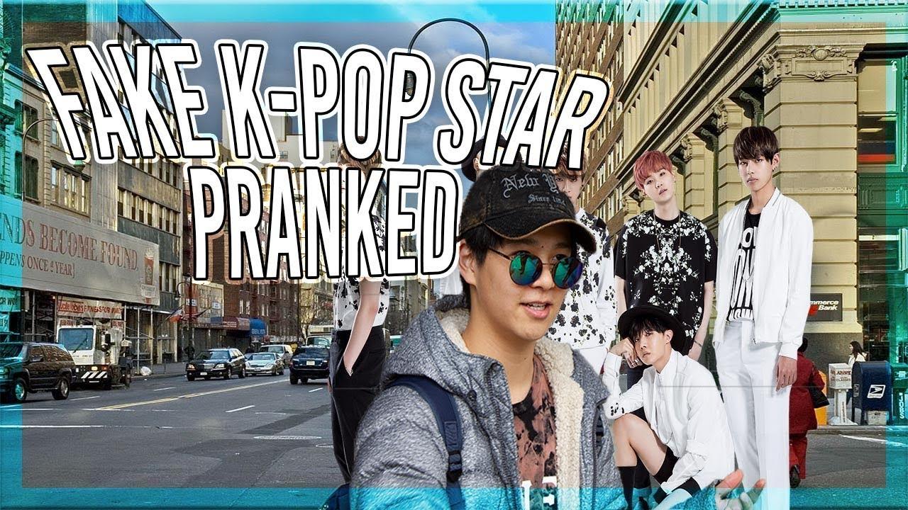 Fake K Pop Star Bts Pranked Must Watch Fake Bts Member Youtube