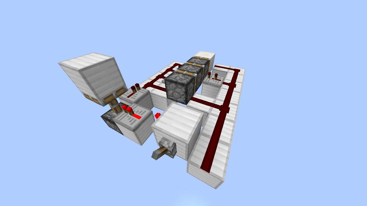 Compact horizontal triple piston extender youtube for 10x10 door