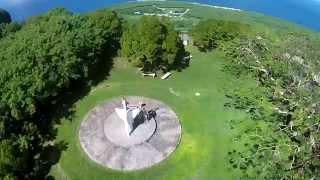DJI Phantom 2 Vision + / Saipan Suicide Clifff - Northern Mariana Islands